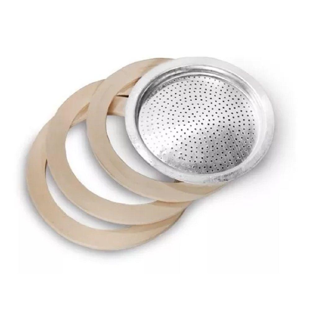 Filtro para Cafeteira Italiana Alumínio 12 Xícaras Café