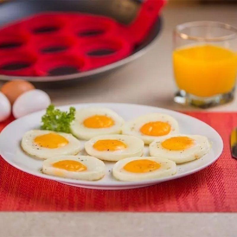 Forma Molde em Silicone para Panquecas Massas e Ovos