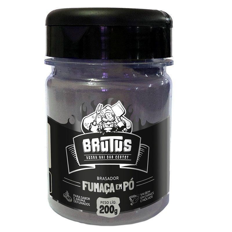 Fumaça em pó Brutus 200g Aroma e sabor defumados