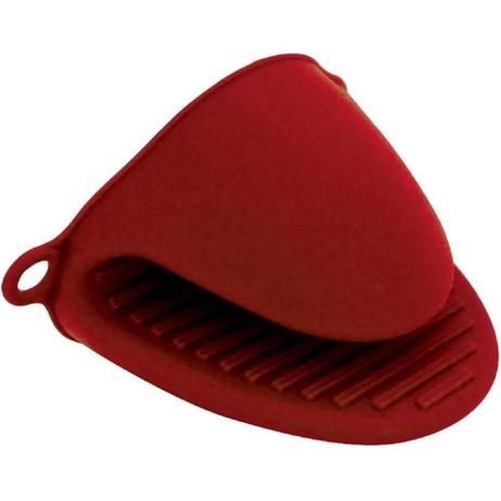 Jogo 02 Luva de Silicone Bico de Pato Térmica Vermelha