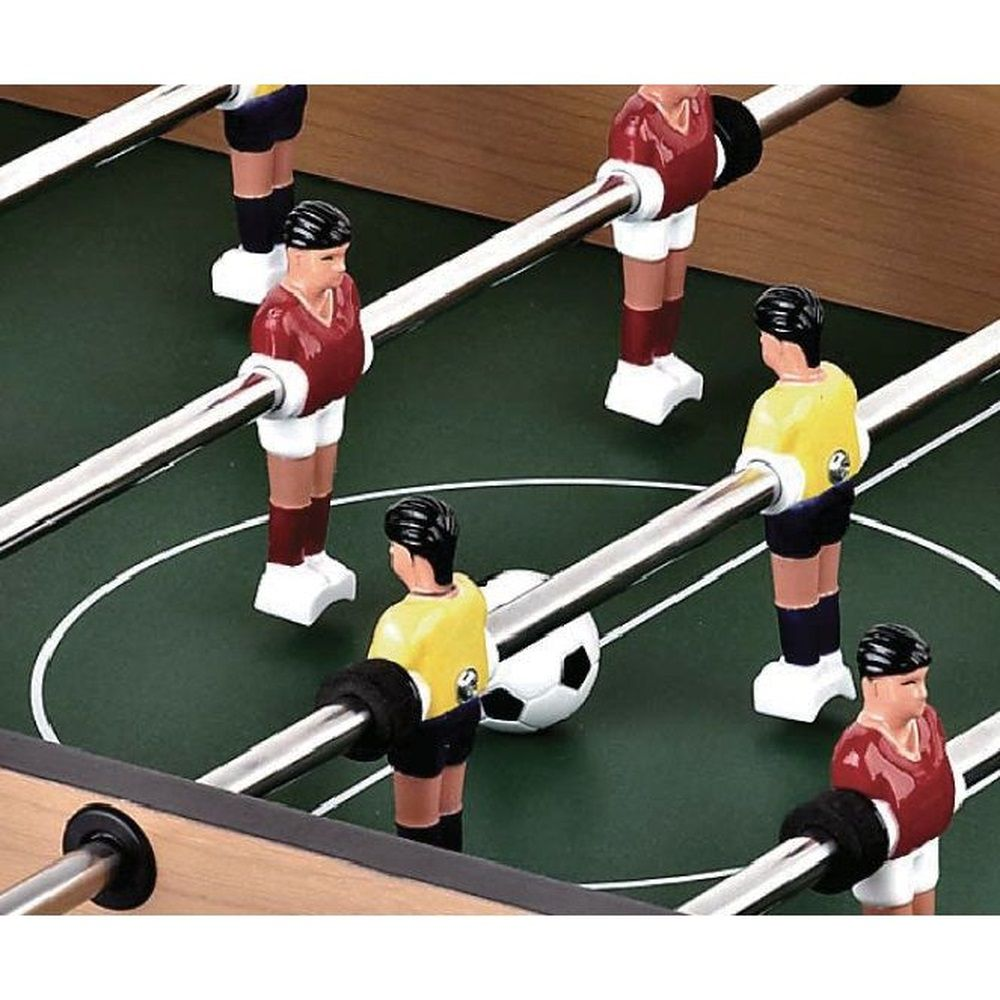 Jogo de Pebolim Toto 70x37x16,8cm Mini Mesa Futebol Infantil