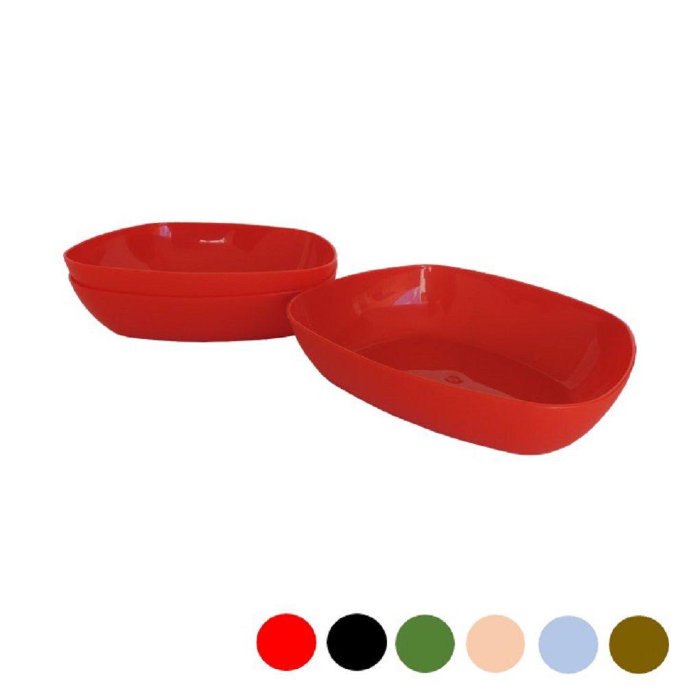 Jogo de Tigelas Plastico Duro Multiuse M 03 x 300ml
