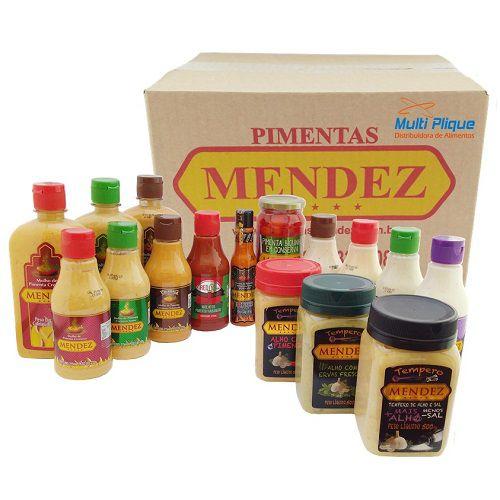 Pimentas Mendez 16 unidades Sabores