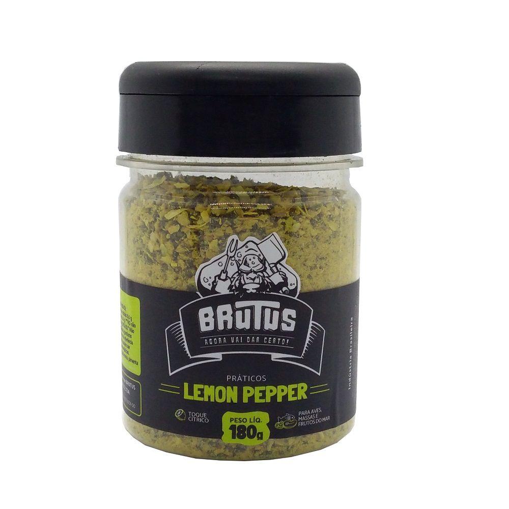 Lemon Pepper Tempera Aves Massas Frutos do Mar Brutus 180g