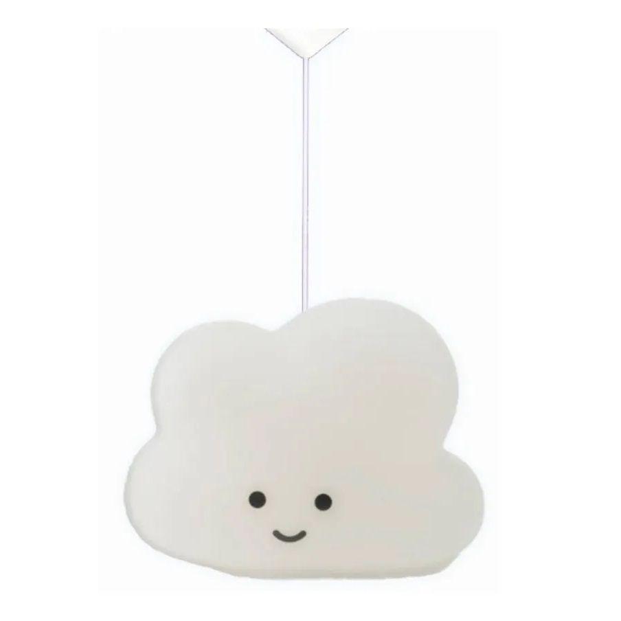 Luminária Nuvem Pendente Natural Quarto Infantil Decorfun