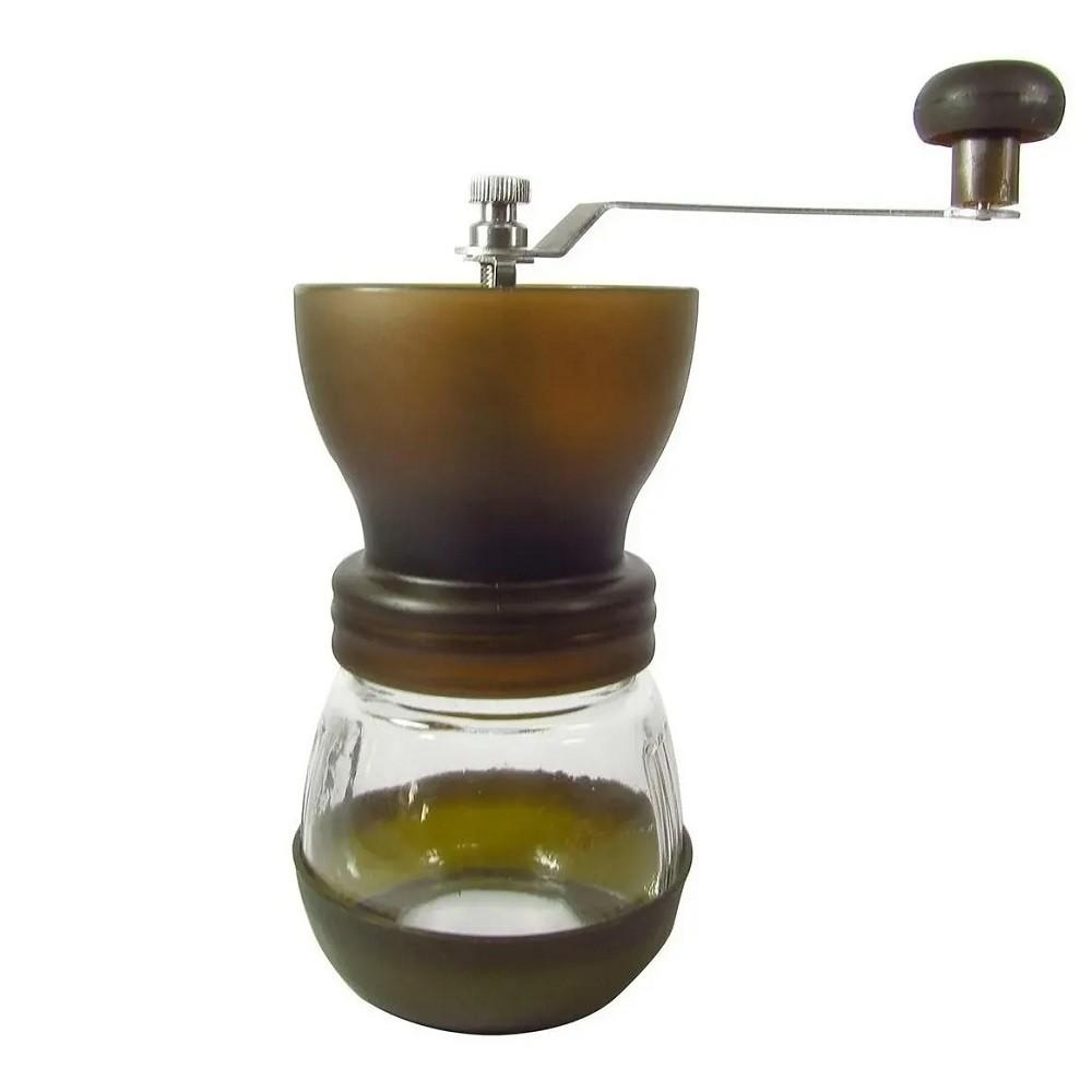 Moedor de Café Manual com Reservatório em Vidro 80g