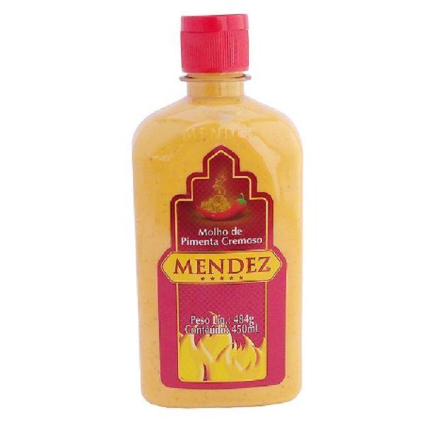Molho de Pimenta Mendez 450ml Cremosa Tradicional