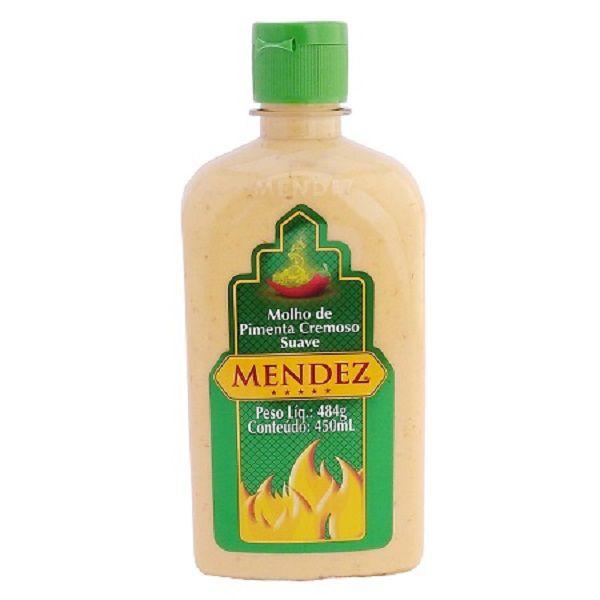 Molho de Pimenta Mendez 450ml Cremosa Suave