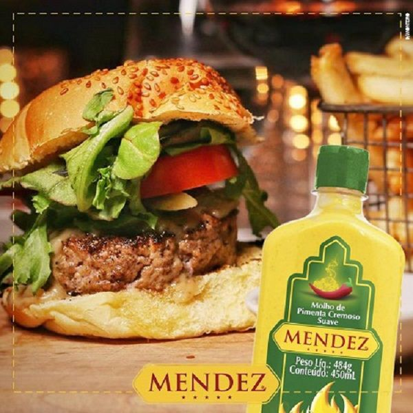 Kit Molho de Pimenta Mendez 215ml 450ml 06 Frascos Cremosa