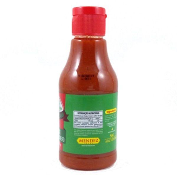 Molho de Pimenta Mendez 215ml Red Pepper Habanero