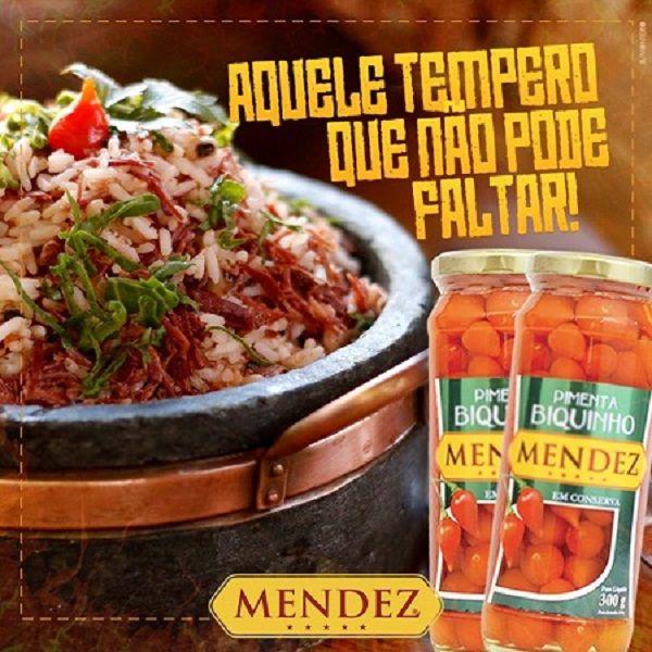 Pimenta Biquinho em Conserva Mendez 300g