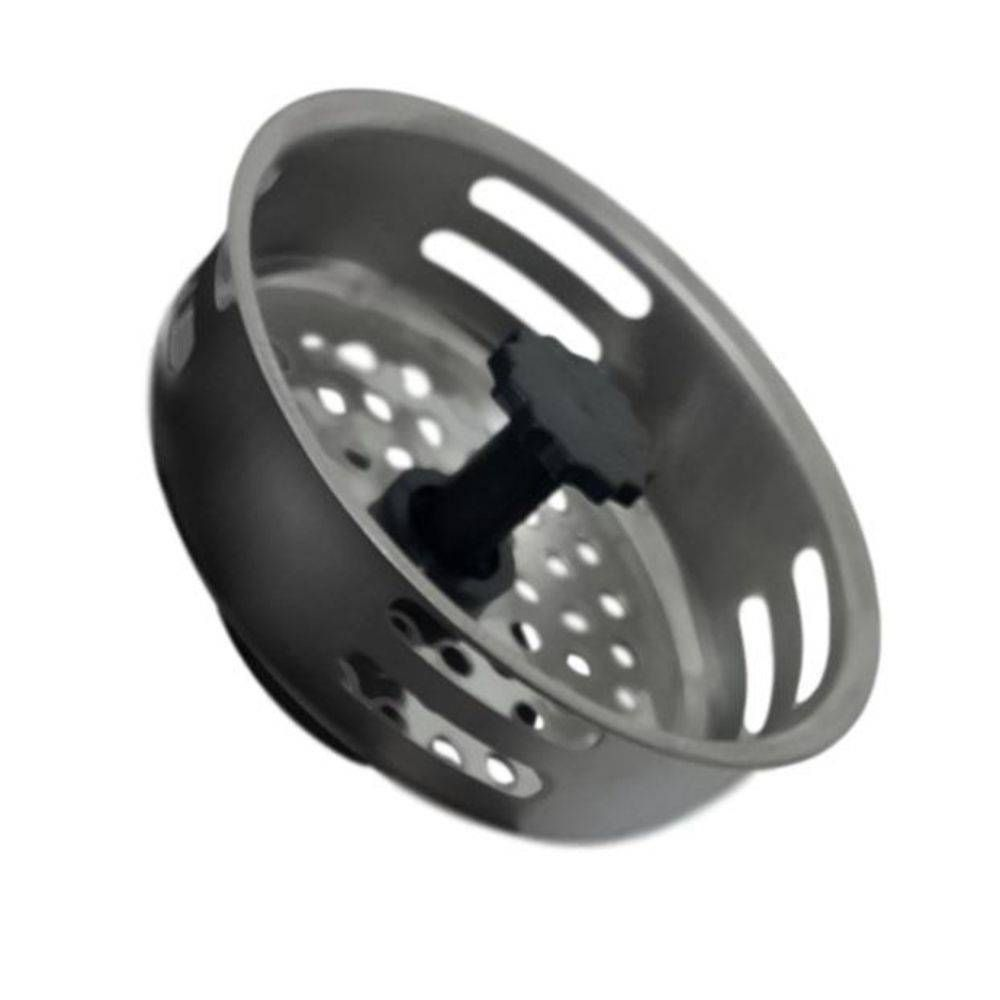 Ralo de Pia Cozinha Inox Silicone Válvula Modelo Americano