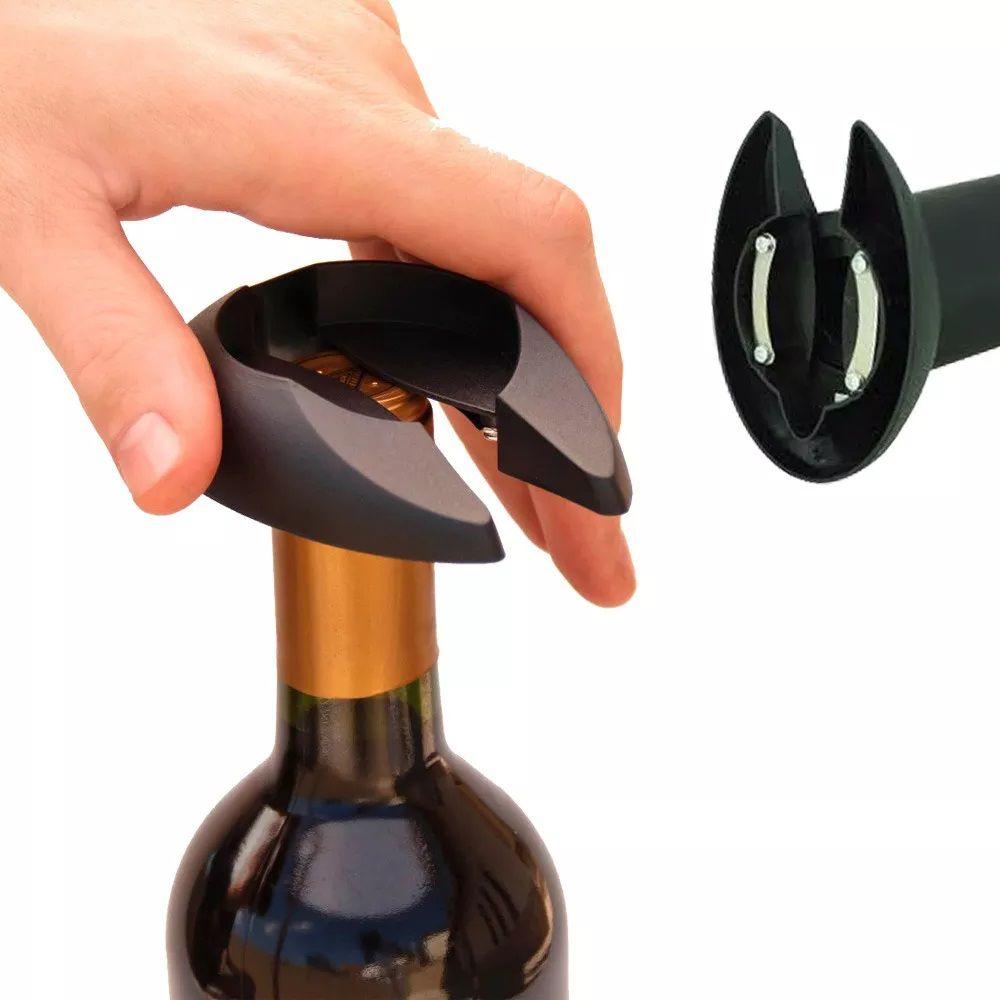 Saca Rolha Abridor de Garrafas de Vinho Elétrico Automático