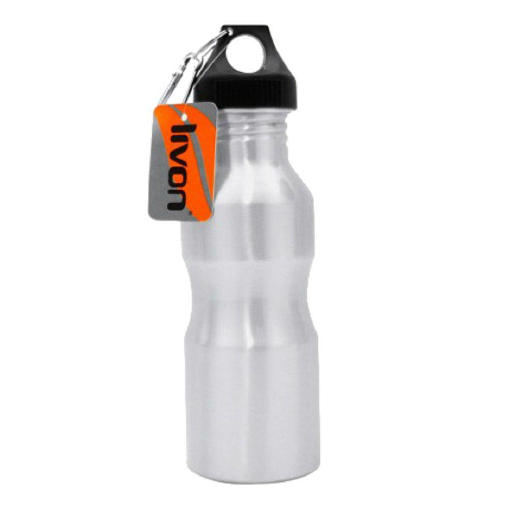 Squeeze Garrafa de Aluminio Mosquetão 600ml Fitness
