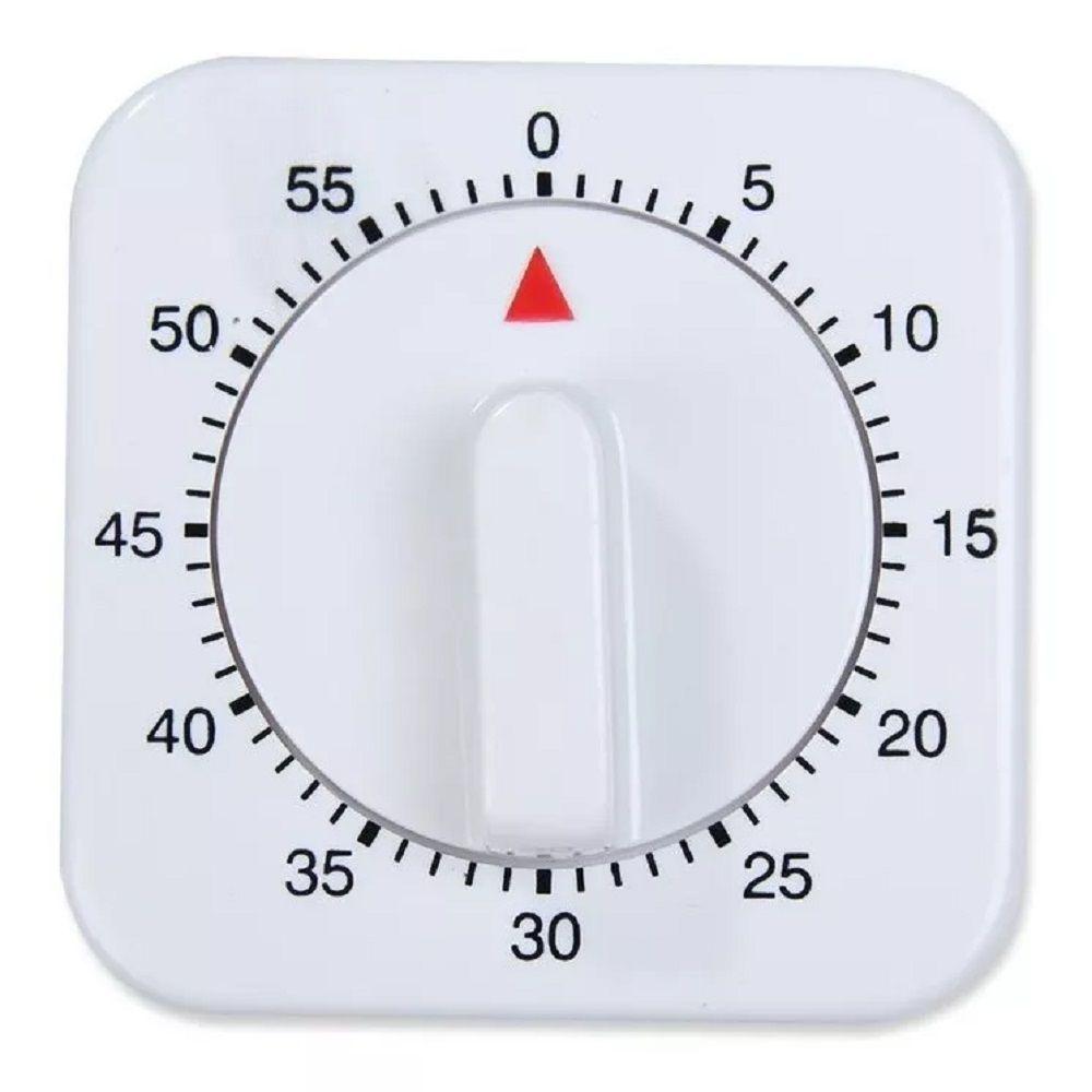 Temporizador Timer de Cozinha Formato Relógio Manual