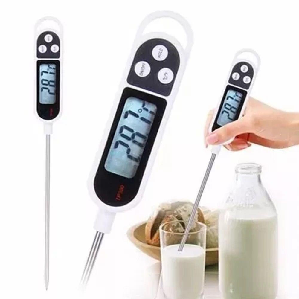 Termômetro Culinário Digital Espeto Assar Cozinha