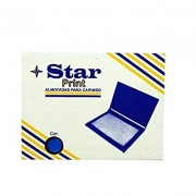 ALMOFADA PARA CARIMBO N°3 AZUL - STAR PRINT