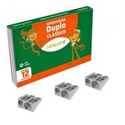 APONTADOR DUPLO METAL - 4208 - LEO E LEO