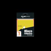 BLOCO ADESIVO PARA RECADO -- JOCAR OFFICE - PACOTE C/ 100 FOLHAS