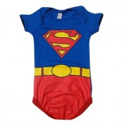 BODY MANGA CURTA FANTASIA SUPERMAN   POP       TAM P/ M/G /GG     CT05 -