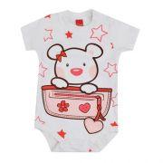 BODY MANGA CURTA URSA STAR TAM M - 121181 - GET BABY