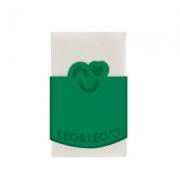 BORRACHA PLASTICA BRANCA COM CAPA  - 4584 - LEO E LEO