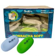 BORRACHA SOFT OVAL - BB21009-36 - BRASILOFFICE - CAIXA C/36 UNIDADES