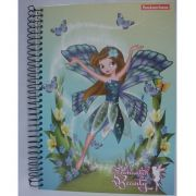 CADERNO UNIVERSITÁRIO 10X1 CAPA DURA COM 200 FOLHAS - ENCHANTED BEAUTY - PANAMERICANA