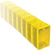 CAIXA DE EMBUTIR 4x2 RETANGULAR COM 25 PEÇAS - REF. 57500/041 - TRAMONTINA