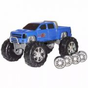 CAMINHONETE OU BIG FOOT 2 EM 1 DOUBLE CAR POWER ROAD - REF. 062 - DIVER TOYS - REEMBALADO/MOSTRUÁRIO