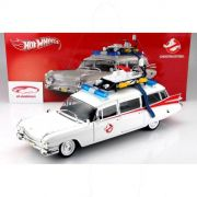 CARRINHO GHOSTBUSTERS ECTO CADILLAC FOUNDATION 1:18 - HOT WHEELS