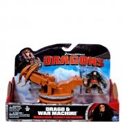 COMO TREINAR SEU DRAGÃO - DRAGO E WAR MACHINE REF. 1017 - SUNNY