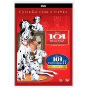 DVD 101 DÁLMATAS COLEÇÃO COM 2 DVD - DISNEY