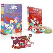 DVD + CD + QUEBRA CABEÇA - KIT PAULECO E SANDRECA - 1006 - MCD