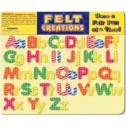 FELT CREATIONS - TAPETE EM FELTRO - ALFABETO - HURRICANE