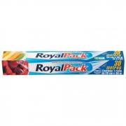 FILME DE PVC TRASPARENTE ROYAL PACK 30METROS CONEM1 ROLO 28CMX30M