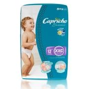 FRALDA INFANTIL BUMMIS TAM XXG - PACOTE JUMBINHO COM 12 UNIDADES - CAPRICHO