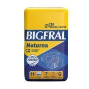 FRALDA NOTURNA TAM G PACOTE COM 7 UNIDADES - BIGFRAL
