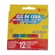 GIZ DE CERA 48G 12 CORES - 09012 - ACRILEX