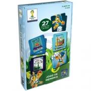 JOGO DE MEMORIA FIFA WORLD CUP BRASIL - REF. 02889 - GROW
