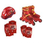 KIT ESPORTIVO PATINS CARROS DISNEY 29 AO 32 - 3613 - DTC