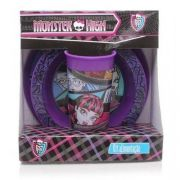 KIT PRATOS FLAT BOWL E COPO MONSTER HIGH - 01676 - BABY GO