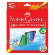 LÁPIS DE COR 24 CORES TRIANGULAR - 120524 - FABER CASTELL