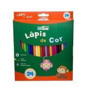 LÁPIS DE COR 24 CORES SEXTAVADO - 4222 - LEO & LEO - CX 1