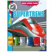 LIVRO BRINCAR-APRENDER-COLORIR: SUPERTRENS - TODO LIVRO