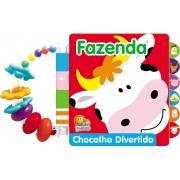 LIVRO FAZENDA COM CHOCALHO DIVERTIDO - TODO LIVRO