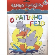 LIVRO PARA BANHO DIVERTIDO - O PATINHO FEIO - TODO LIVRO