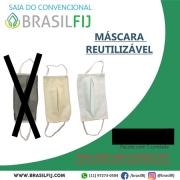 MÁSCARA FACIAL REUTILIZÁVEL - PACOTE COM 5 UNIDADES