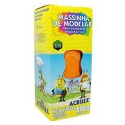 MASSINHA DE MODELAR 500G LARANJA - 517 - ACRILEX