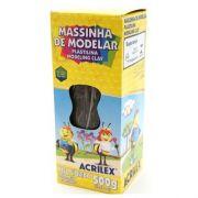 MASSINHA DE MODELAR 500G PRETA - 520 - ACRILEX
